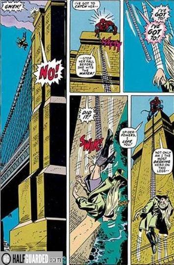 gwen stacey dies - best comic book fights