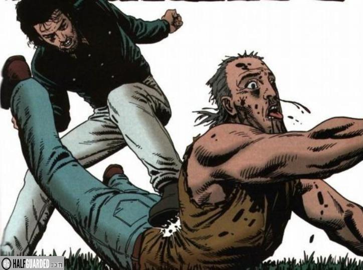 preacher comic fight - best comic book fights