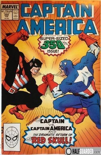 captain vs captain america - best comic book fights