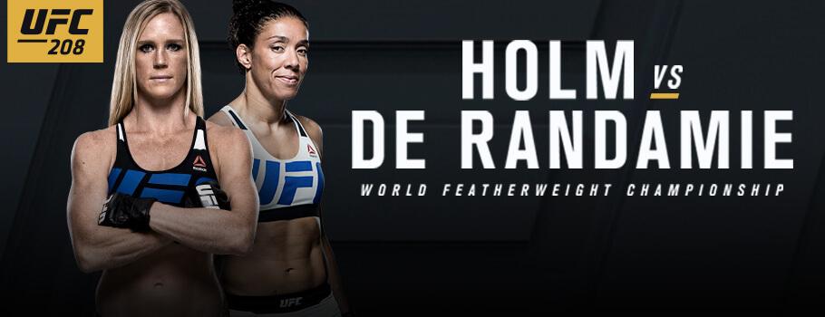 UFC 208 Free Live Stream of Consciousness aka UFC 208 Results