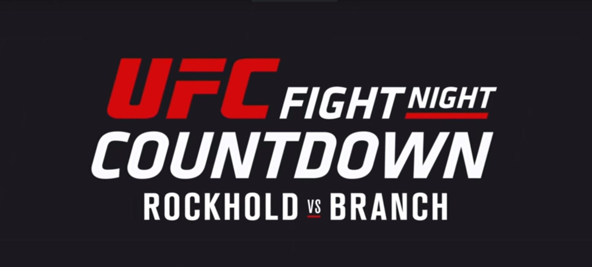 ufc countdown branch rockhold