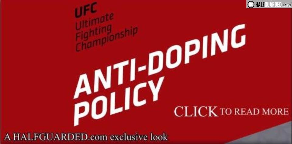 ufc steroid policy ufc ped policy
