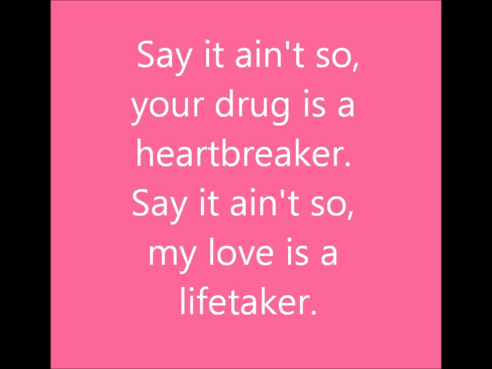 weezer say it ain't so lyrics